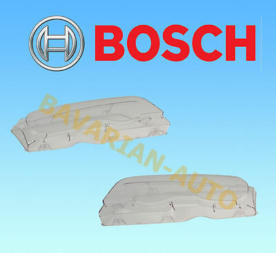 BMW E46 Bosch Headlight Lens Left and Right (Plastic)