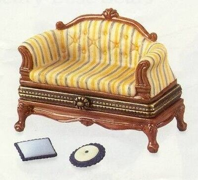 French Sofa PHB Porcelain Hinged Box by Midwest of Cannon Falls