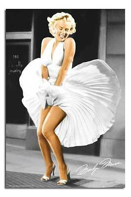 Marilyn Monroe Seven Year Itch Dress Large Maxi Wall Poster New