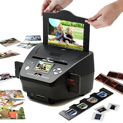3 in 1 Scanner Photos Negatives & Slides 2.4 LCD Screen