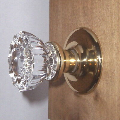 The Perfect Interior Crystal Door Knob Set-fit ANY DOOR-w/features of a $100+Set