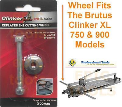 BRUTUS CLINKER XL PRO Tile Cutter/Cutting Replacement Spare Wheel 750mm & 900mm