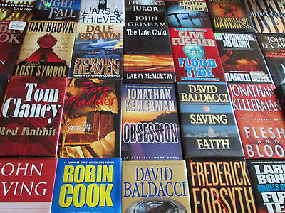 FICTION HARDCOVER LOT - MALE Authors ONLY  - FREE SHIPPING