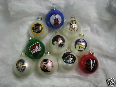 Country Music 10 pc Ornament Set ~NEW~ 1996-97 Collectible Limited addition