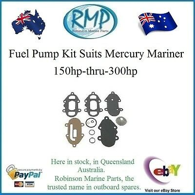 A Brand New Fuel Pump Kit 150hp-thru-300hp Mercury Mariner Outboards # 89031A2