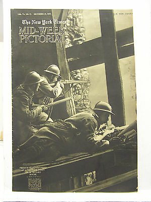 Dec 27,1917 NY TIMES Mid-Week Pictorial Magazine-Sharpshooters/Russia/Pigeon/WW1