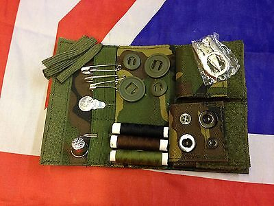 Military Sewing Kit by Web-tex in British DPM, scout, survival, outdoor pursuits
