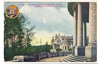 1909 postcard-Agricultural Building, Alaska-Yukon-Pacific Exposition, Seattle