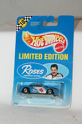 Hot Wheels Limited Edition Roses Tommy Houston NASCAR Buick Racer, MOC