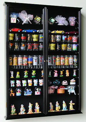 144 Shot Glass 84 Shooter Figures Mini Liquor Display Case Cabinet Wall Rack