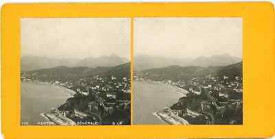 STEREO France Menton Panorama STEREO France Menton Panorama Tirage argentique