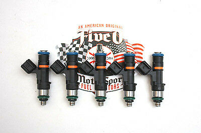 SET OF 5, Bosch EV14, 510cc FUEL INJECTORS, Volvo, Ford Focus RS, BRAND NEW