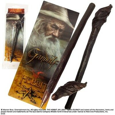 The Hobbit. Gandalf the Grey Staff Pen and Paper Bookmark. The Hobbit GREAT GIFT