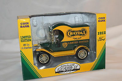 1912 Ford Crayola Crayons Bank #8, Gearbox Toys,  Mint Boxed