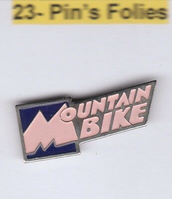 Pinsfolies Pin's Badge ++ Sports Media cyclisme cycling velo VTT Mountain bike