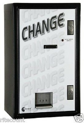 MC-700 Bill to Coin Changer holds 4,200 Qtrs CoinCo Validator Free Shipping