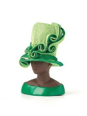 Harriet Rosebud Minature Hat Extraordinary Green #3127