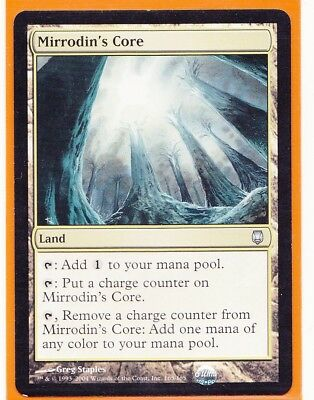 MTG Magic 1 x   MIRRODIN'S CORE   Darksteel Uncommon card  Land  Never played