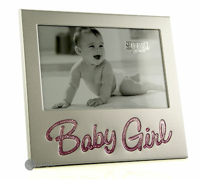 Glitter Baby Girl Pink 6 x 4 Photo Frame 73779