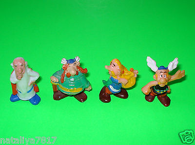 Komplettsatz ### Asterix 1976 ### Altfiguren 100 % Original+Uv=Top!!!