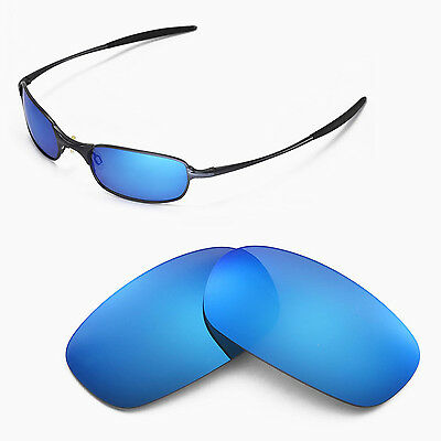 New Walleva Polarized Ice Blue Lenses For Oakley Square Wire 2.0