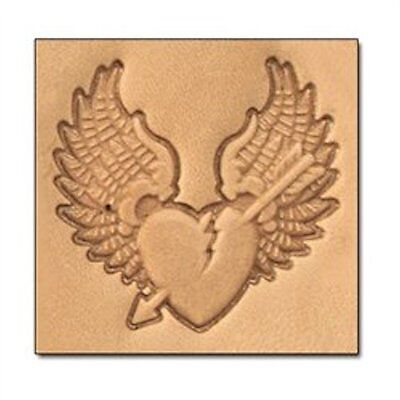 Broken Heart 3-D Stamp 8666-00 by Tandy Leather Craftool