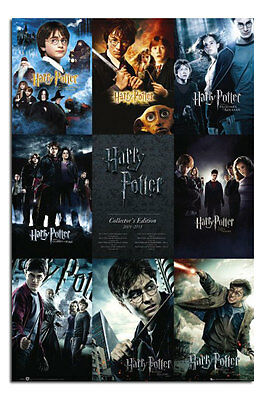 Harry Potter Collection Large Maxi Wall Poster New - Laminated Available
