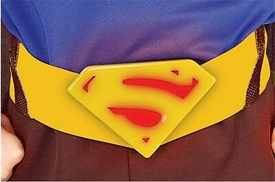 Superman Returns Molded Belt Gift Child Dress Up Halloween Costume Accessory