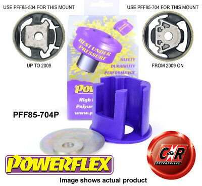 VW Scirocco 09 on Powerflex Lower Eng Mount Insert Large Track Use PFF85-704P