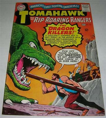 TOMAHAWK #102 (DC Comics 1966) THE DRAGON KILLERS! Fred Ray art! (FN+) NICE!