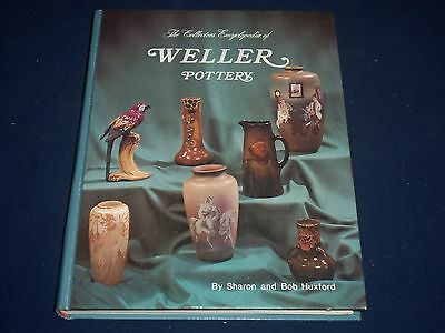 1979 Collectors Encyclopedia Of Weller Pottery Hardcover Book Huxford - Kd 1597
