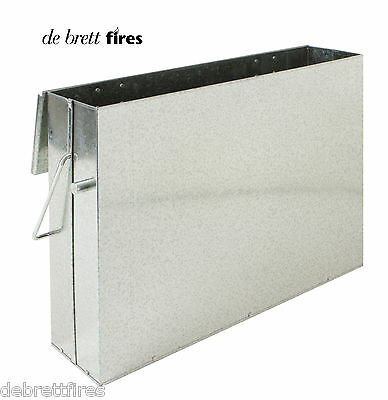 All Purpose Ash Carrier - Holder Tippy Bin Coal Log Fire Hot or Stove Metal Tidy