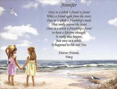 Personalized Friendship Gift Poem for Christmas Birthday Friendship Inspiration