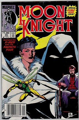 Moon Knight  # 35  Marvel  Special Double Sized Issue!