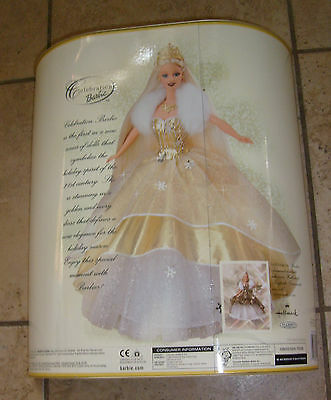 BARBIE 2000 Holiday Special Edition Celebration Stunning Doll MISB NEW FREE S/H