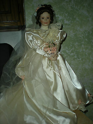 "Ashton Drake 1994 Elizabeth ""From This Day Forward"" Bride Doll Series"