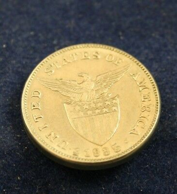 united states of america coin 1935 five centavos filipinas mm3