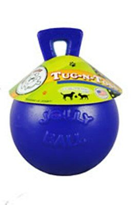 "Tug-n-Toss Jolly Ball 4.5"" - Dog Toy  float & bounce, do not need air to inflate"