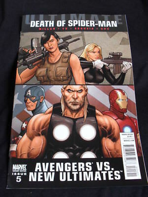 "ULTIMATE AVENGERS vs NEW ULTIMATES #5 1:20 VAR! ""DEATH OF SPIDER-MAN"" REDUCED!"