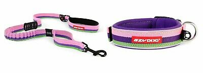 Ezy-Dog Bubblegum Collar & Matching Zero Shock Lead 48""