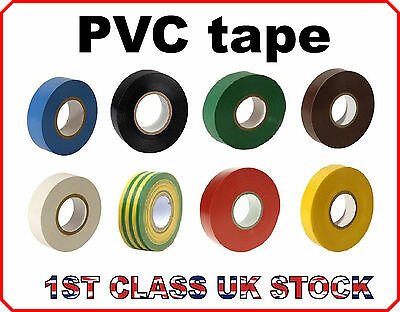 Electrical PVC Insulation Insulating Tape 19mm X 20m Flame Retardant Resistant