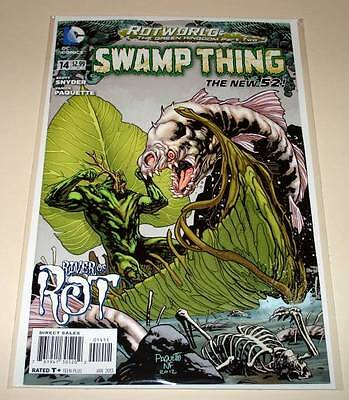 SWAMP THING # 14  (Jan 2013) DC Comic  The New 52 ! NM