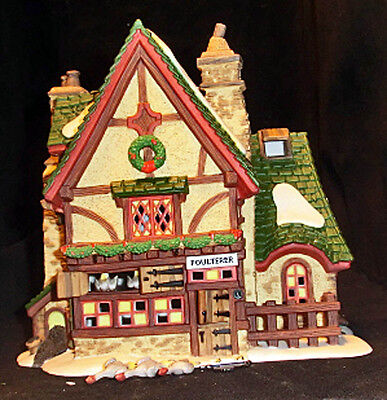 Department 56 Dickens Village   LEACOCK POULTERER   NEW
