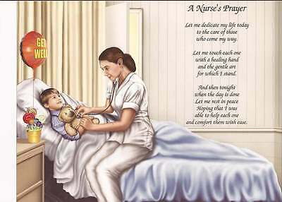 Prayer personalized poem gift for nurses caregiver s any occasion