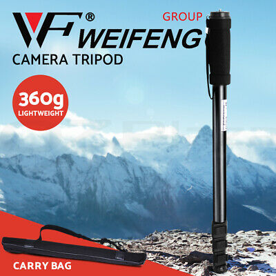 Weifeng Extendable Portable MONOPOD Tripod Unipod Holder for Digital Camera DSLR