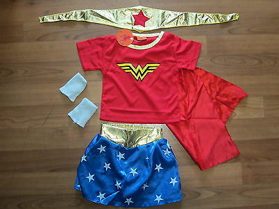 **NEW** WONDER WOMAN Costume COSPLAY sizes 2-10 **Post from Melbourne*