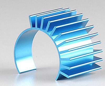 TAMIYA TT01 Blue Aluminium Motor Heat Sink TT-01 53664 For 540 Motor