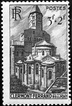 "France Timbre Stamp N°773 ""Basilique Notre-Dame, Clermont-Ferrand"" Neuf X Tb"