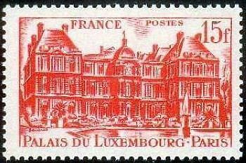 """France Timbre Stamp N°804 """"Palais Du Luxembourg, 15F"""" Neuf X Tb"""