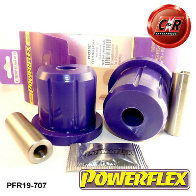 Ford Fiesta Mk4 95-99 & Mk5 99-02 Powerflex Rear Beam Mounting Bushes PFR19-707